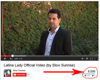 Latina Lady Hits 8,000 Views!